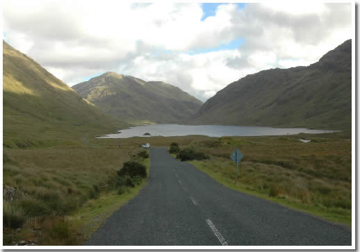 Photo of Doo Lough Pass County Mayo Ireland © Joe Barnes 2007
