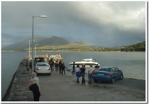 Photo of Old Head Pier Louisburg County Mayo Ireland. © 2007 Joe Barnes